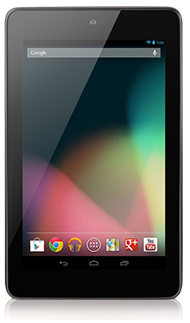 Nexus 7 with Jelly Bean