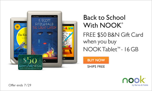 Barnes & Noble Nook Tablet Deal