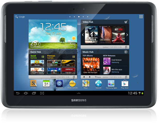 Samsung Galaxy Note 10.1 in Deep Grey