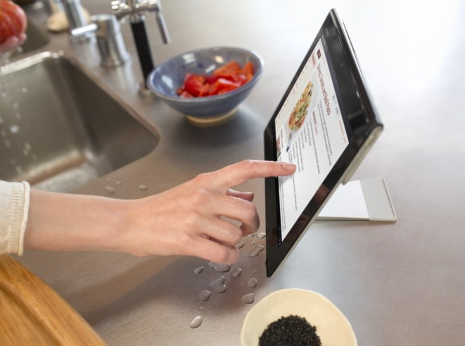 Splash-Proof Sony Xperia Tablet S