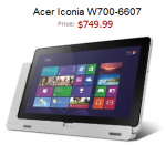 Acer Iconia W700 Pre-Order Price