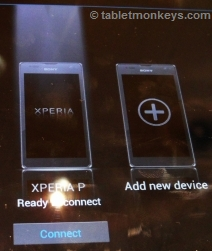 Bluetooth tethering the Xperia way
