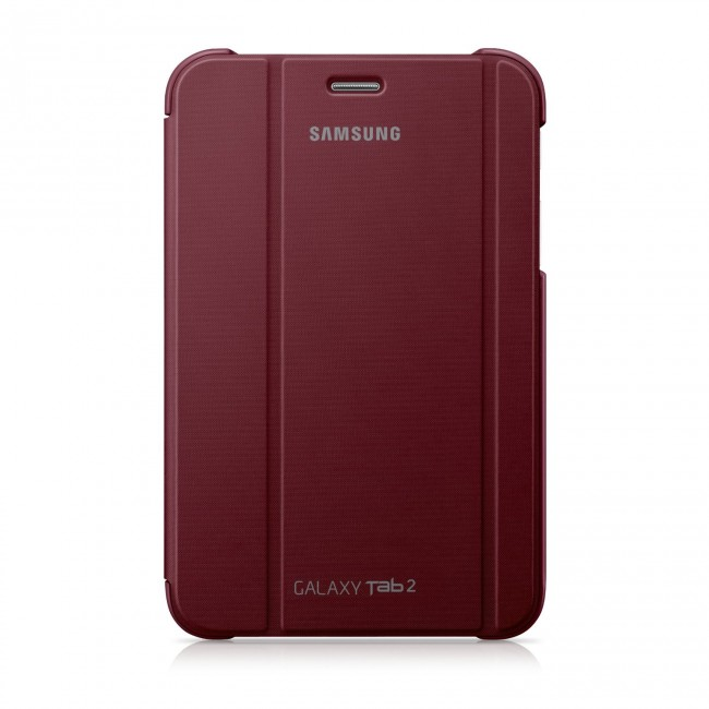 Samsung Galaxy Tab 2 Garnet Red Cover