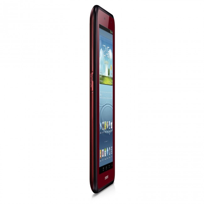 Samsung Galaxy Tab 2 Garnet Red Edition