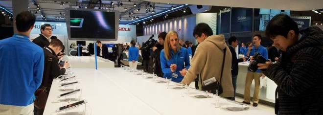 Tablets at MWC