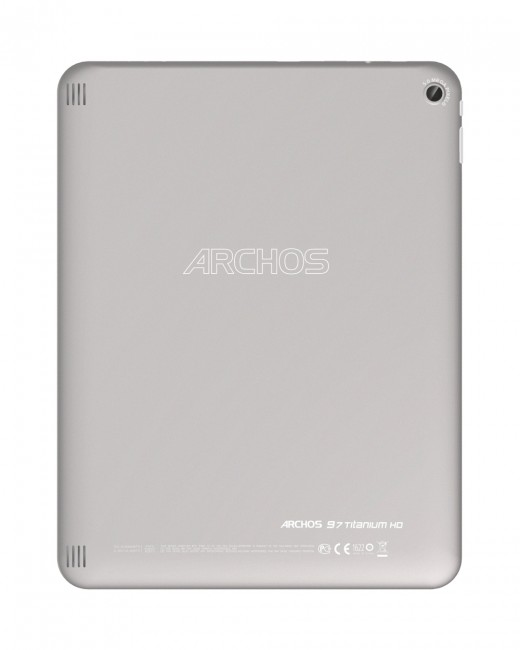 Archos 97 Titanium HD rear