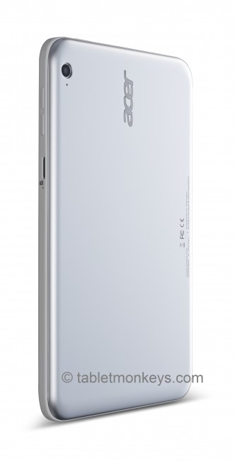 Acer Iconia W3 back