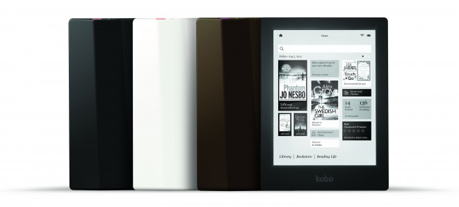 Kobo Aura HD E Ink eReader color options