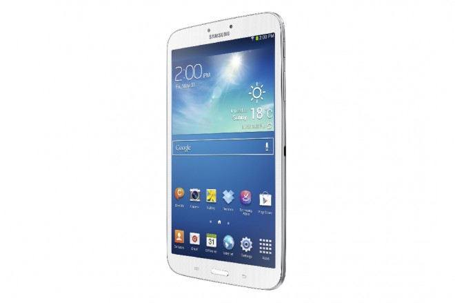 Samsung Galaxy Tab 3 8.0 Front Side View