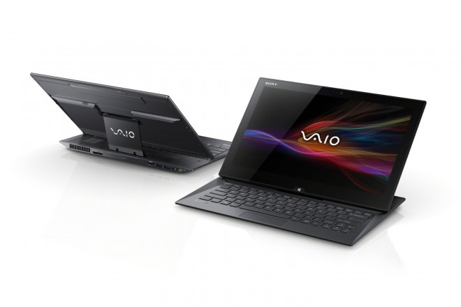 Sony VAIO Duo SVD13215PXB 13.3-Inch Convertible Touchscreen Ultrabook in black
