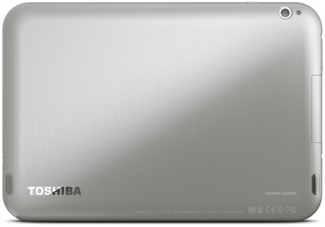 Toshiba Excite Write and Pro Rear