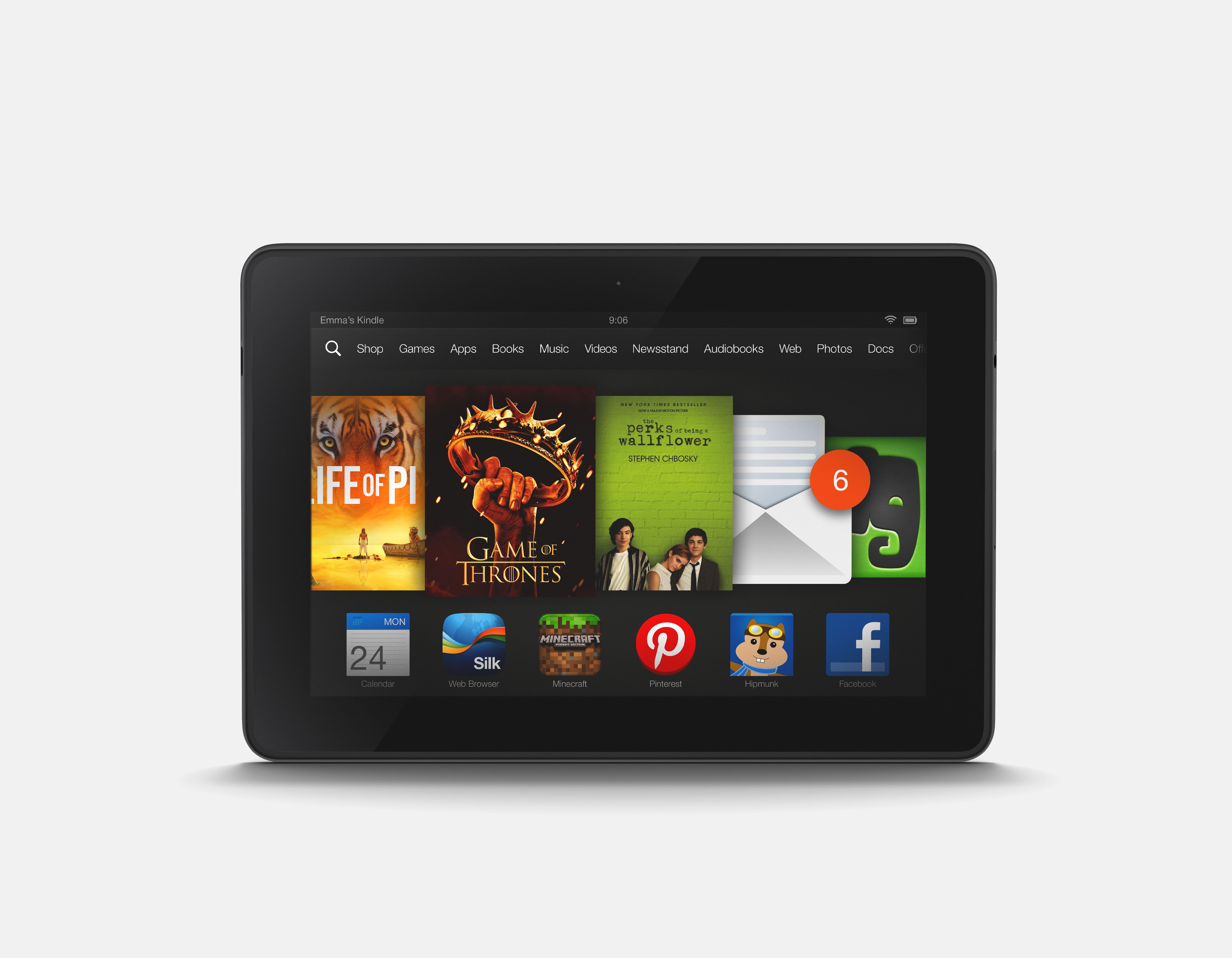 Amazon Kindle Fire HDX - World's Fastest Tablets - photo#35