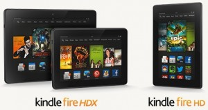 Kindle Fire HDX and Kindle Fire HD 7
