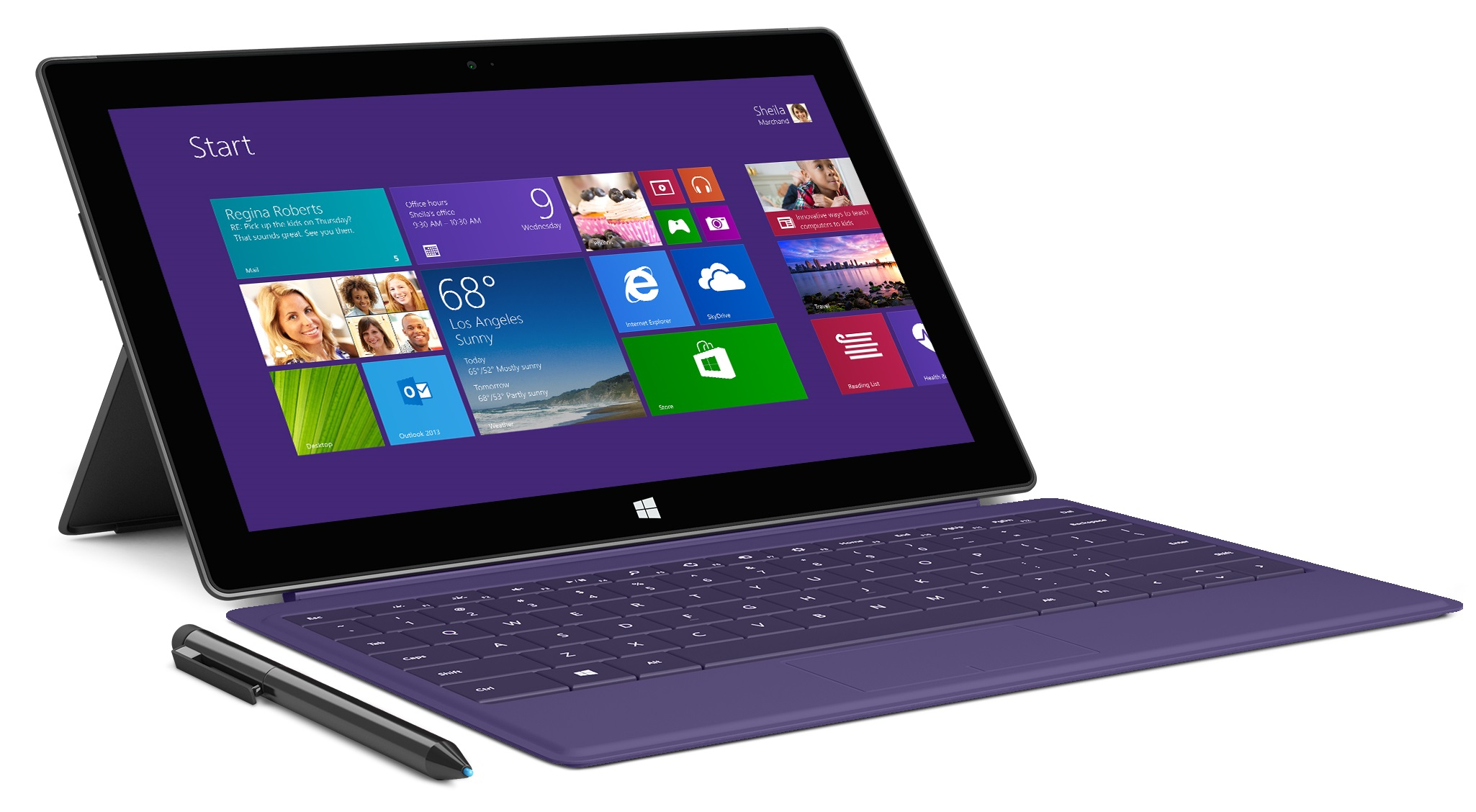 Housse de protection pour microsoft surface rt surface 2 for Housse protection