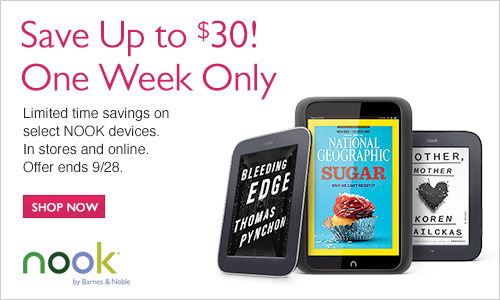 Sale on NOOK HD