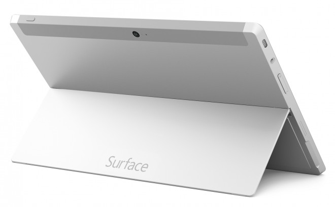 Surface 2 with kickstand from back side