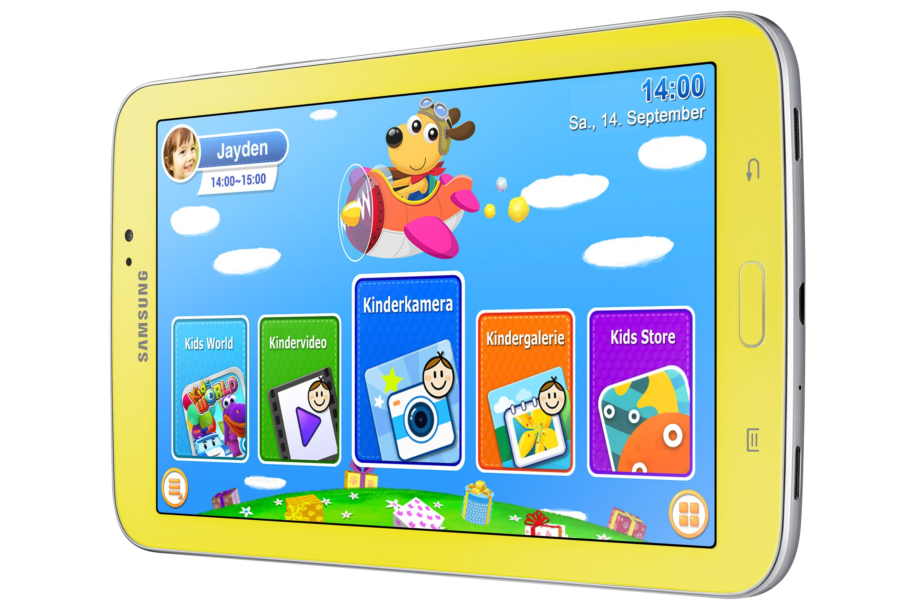 Kids Tablet Samsung Galaxy Tab 3 Kids Edition without case