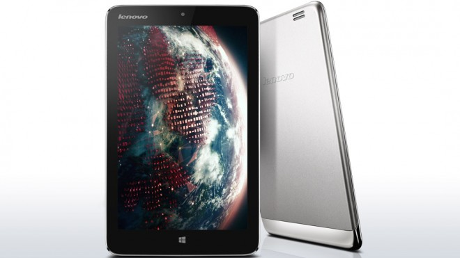 Lenovo Miix 2 - front and back