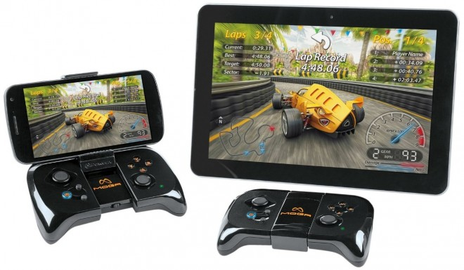 MOGA Mobile Gaming System for Android with tablet and smartphone controller