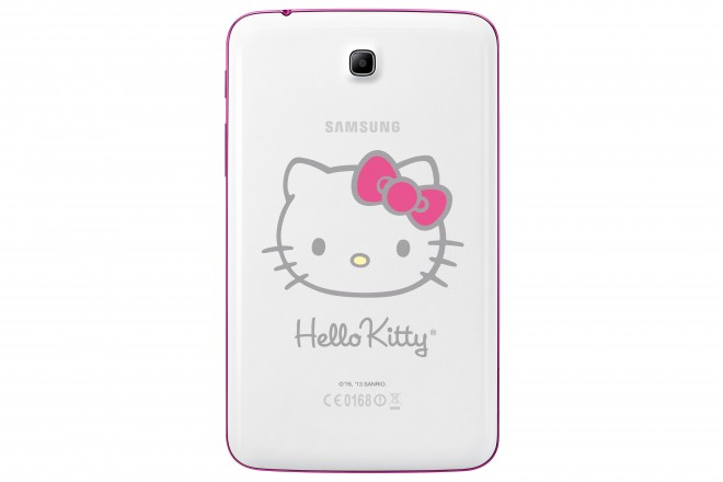Samsung GALAXY Tab 3 7.0 WiFi Hello Kitty Edition back
