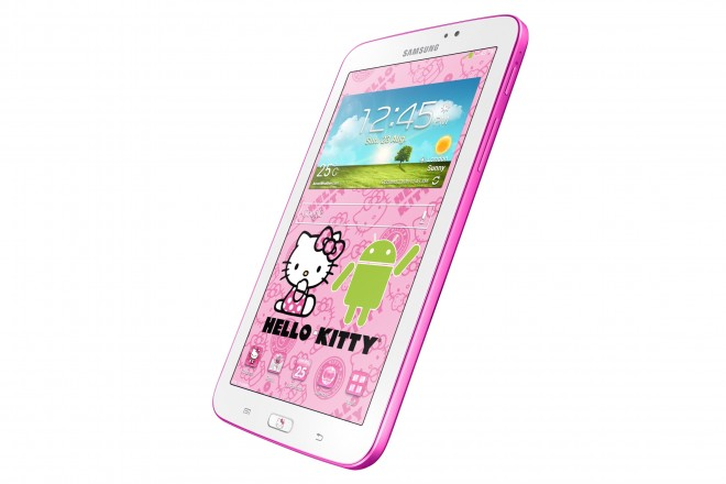 Samsung GALAXY Tab 3 7.0 Hello Kitty Edition - right side