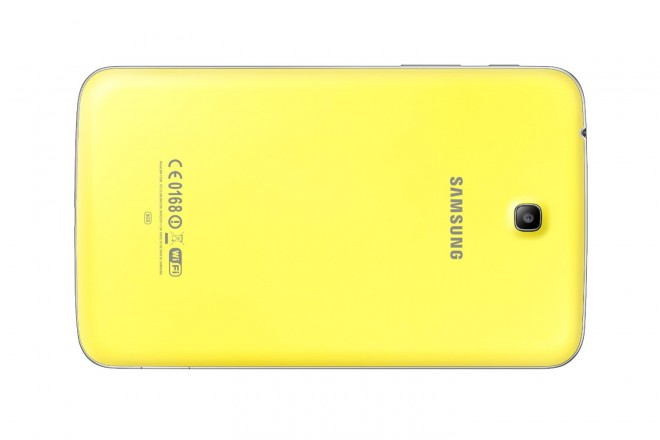 Samsung Galaxy Tab 3 Kids Edition rear without cover
