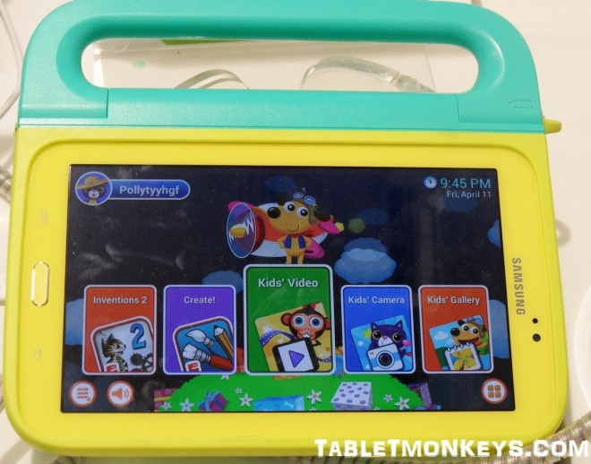 Samsung Galaxy Tab 3 Kids Edition - The best childrens tablet yet