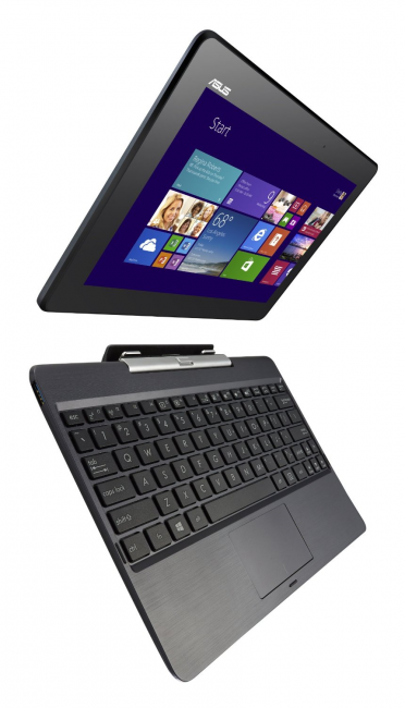 Transformer Book T100 with keyboard