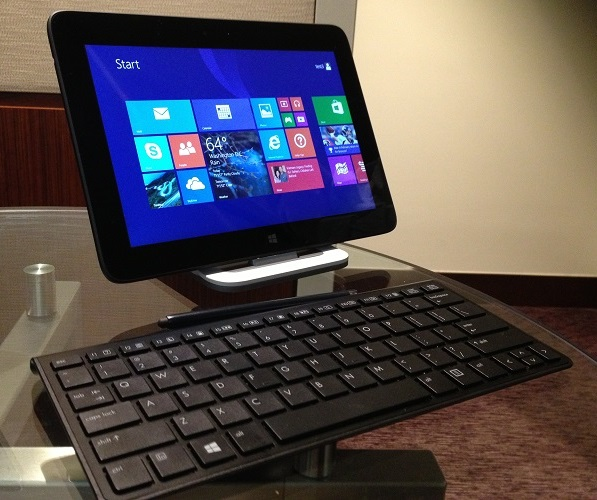 HP Omni 10 with optional dock and keyboard