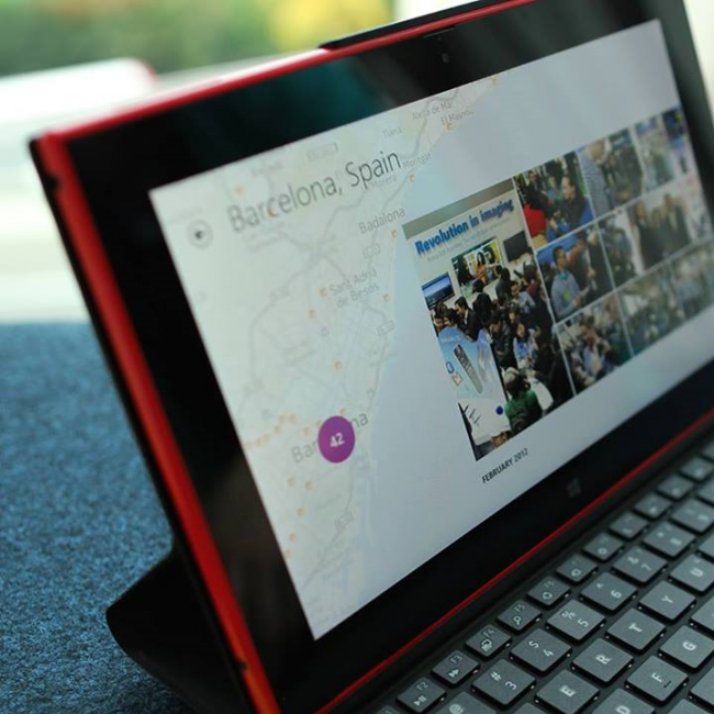 Nokia Lumia 2520 HERE Maps