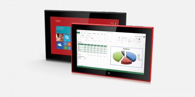 Nokia Lumia 2520 Windows 8.1 tablet