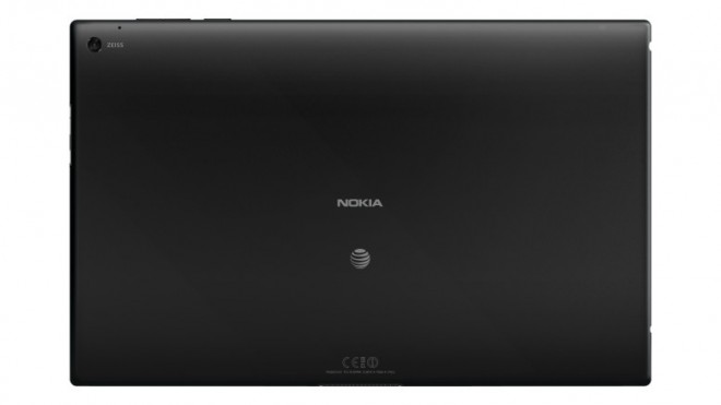Nokia Lumia 2520 back