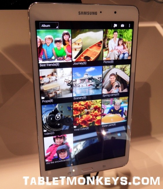 Samsung Galaxy TabPRO 8.4 - The best 8-inch Android tablet of 2014