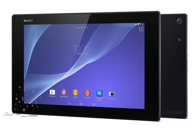 Waterproof Android tablet Sony Xperia Z2 Tablet