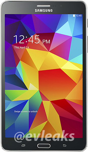 Samsung Galaxy Tab 4 7.0 in black