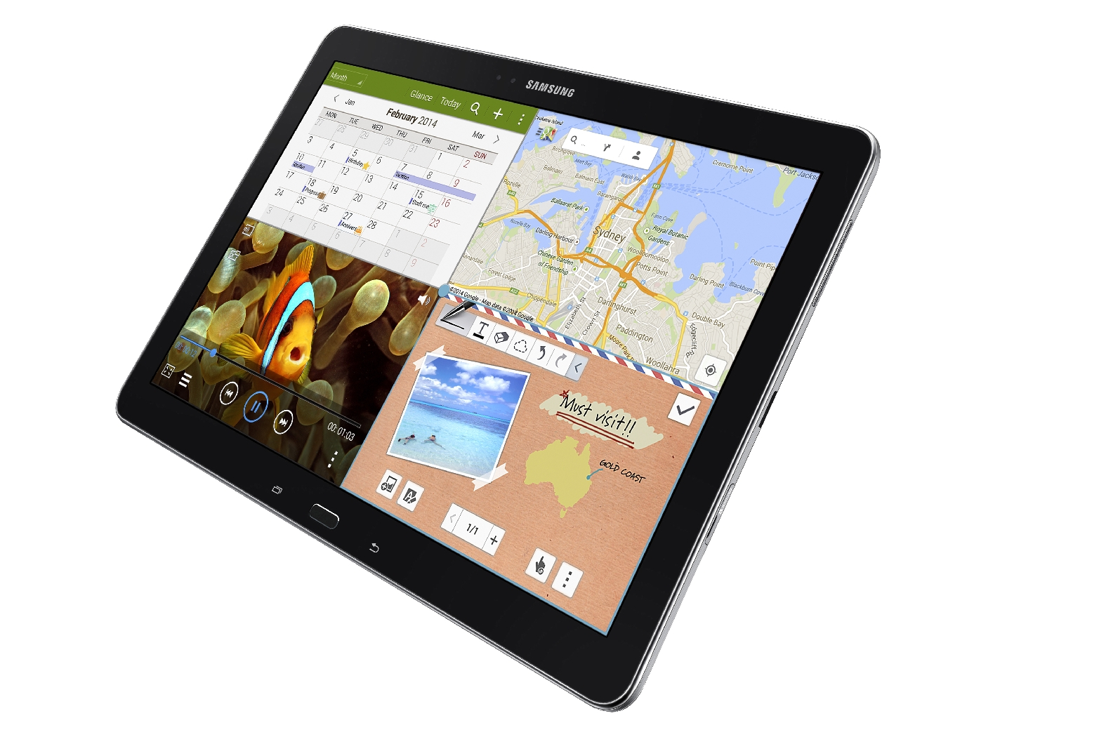 samsung galaxy tab pro 12 2 taking orders for 649 in us. Black Bedroom Furniture Sets. Home Design Ideas