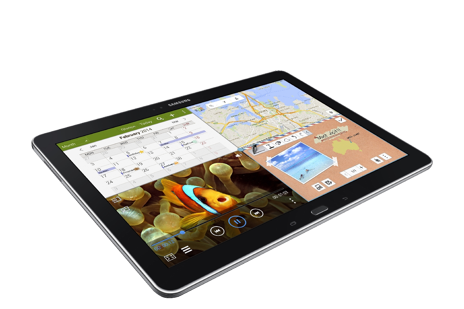 Samsung Galaxy Tab PRO 12.2 Taking Orders for $649 in US