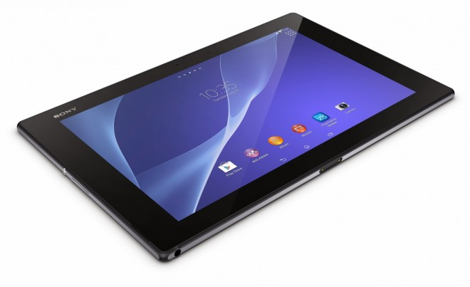 Sony Xperia Z2 Tablet side view