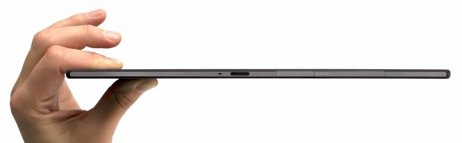 Thickness of Sony Xperia Z2 Tablet