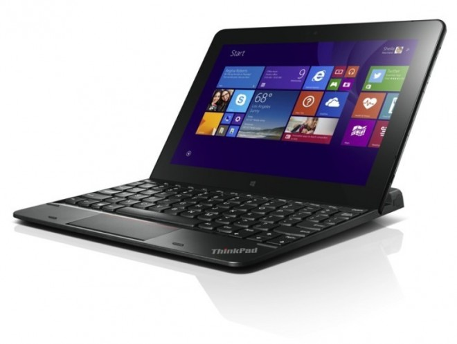 Lenovo ThinkPad 10 ultrabook keyboard