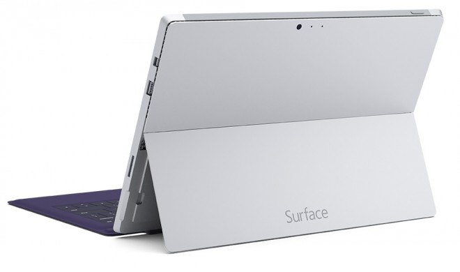 Microsoft Surface Pro 3 back