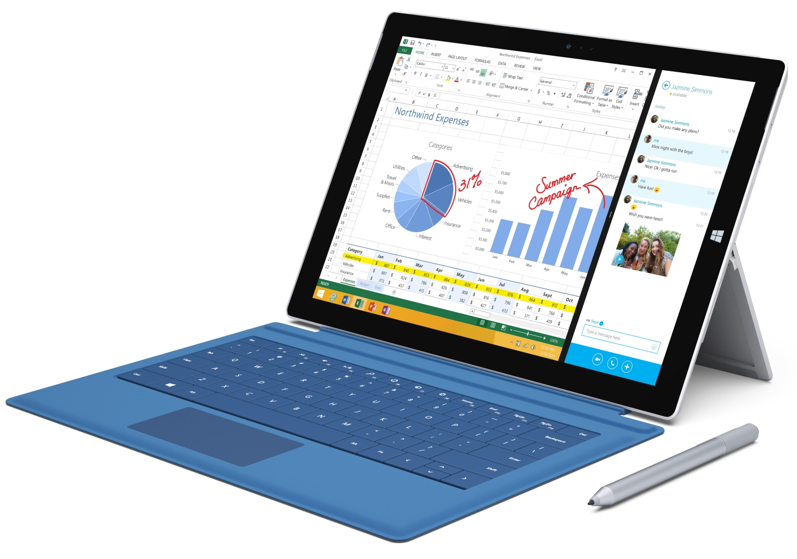Microsoft Surface Pro 3 Complete Specifications & Details From Launch