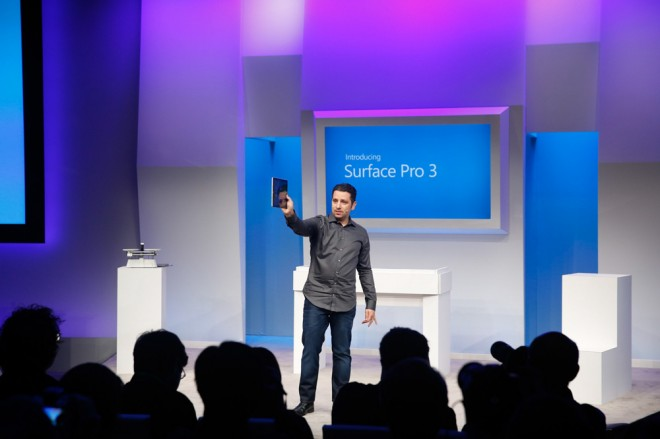 Panos Panay announce Surface Pro 3