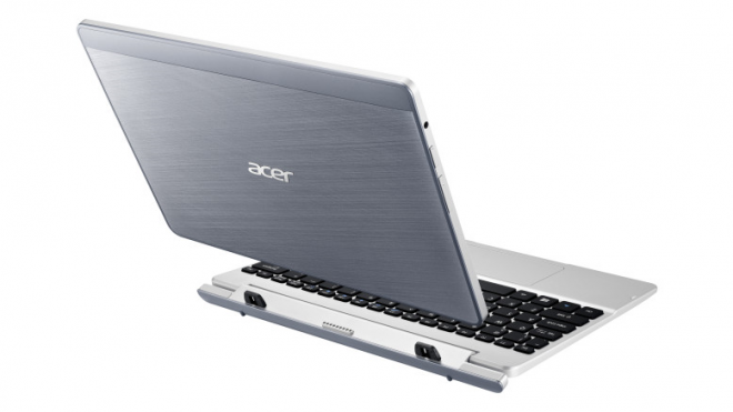 The back of Acer Aspire Switch 10