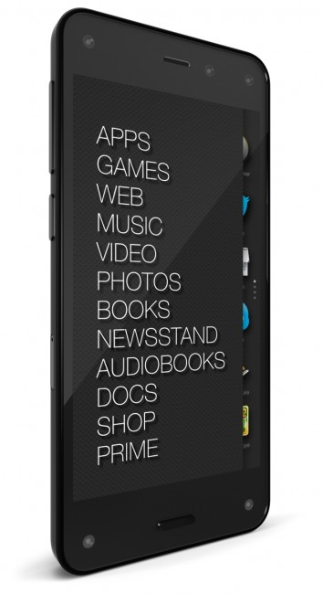 Amazon Fire 3D phone