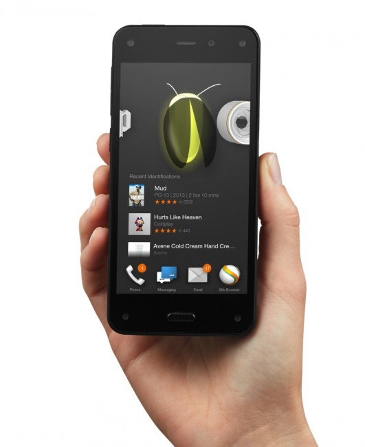 Amazon Fire  phone with Firefly