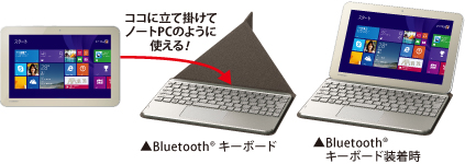 Toshiba Encore 2 Bluetooth keyboard