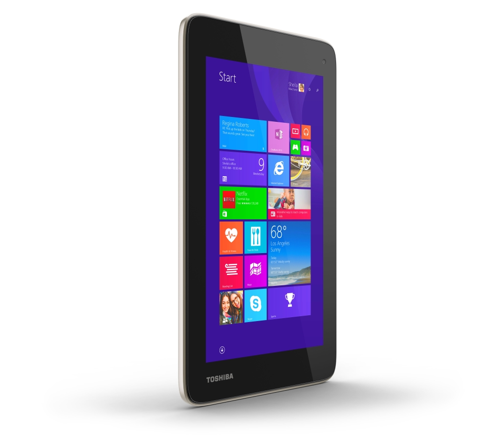 toshiba encore mini 7 the first 7 inch windows 8 1 tablet. Black Bedroom Furniture Sets. Home Design Ideas