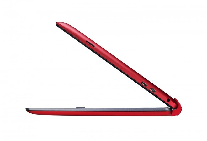 Asus Transformer Book T100 Z3775 right side view