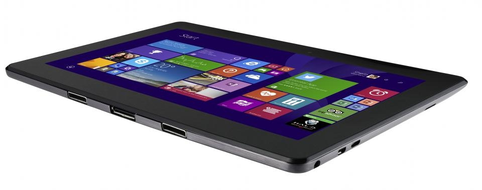 Asus Transformer Book T100TAM In Brushed Aluminium